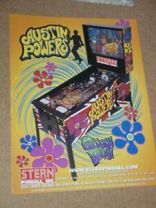 Pinball machine FLYER - Stern Austin Powers (combined post - Use BASKET)