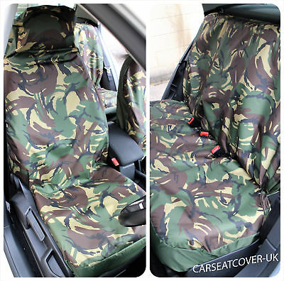 Camouflage Waterproof Car Seat Covers Toyota Hilux Full Set