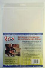 Stix2 Hojas A4-Con Calor-En Hierro Adhesivos-de materiales delicados