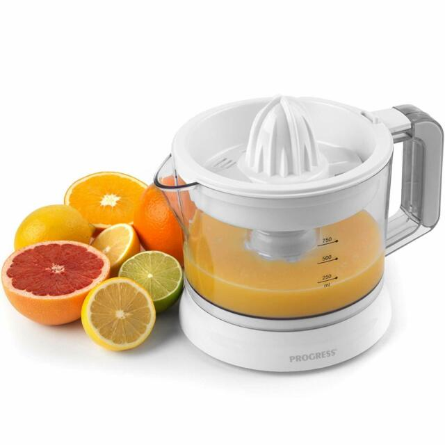 Progress 750ml Litres Electric 25W Citrus Juicer Fruit Extractor Quick Press Jug