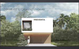 Preventa Casa En Cancun (Arbolada )