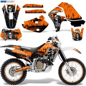 Honda-XR650-Grafik-Aufkleber-Set-Dirt-Bike-Wickel-XR650R-2000-2010-Reap-Orange
