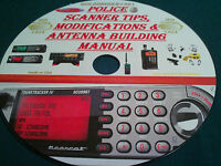 Police Scanner Tips, Modifications & Antenna Building Manual On Cd