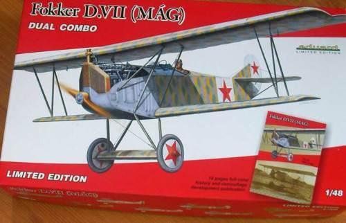 Eduard Fokker D.VII Mag+ Etched Parts & Express Mask 1 48 Model Kit Nip Set