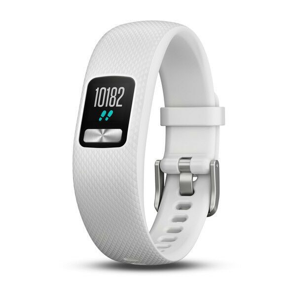 Garmin Rastreador de Fitness Vivofit 4 blancooO TALLA S M azultooth Impermeable