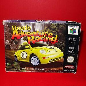 Vintage-NINTENDO-64-N64-Beetle-adventure-racing-cartouche-de-jeu-video-PAL-en-boite