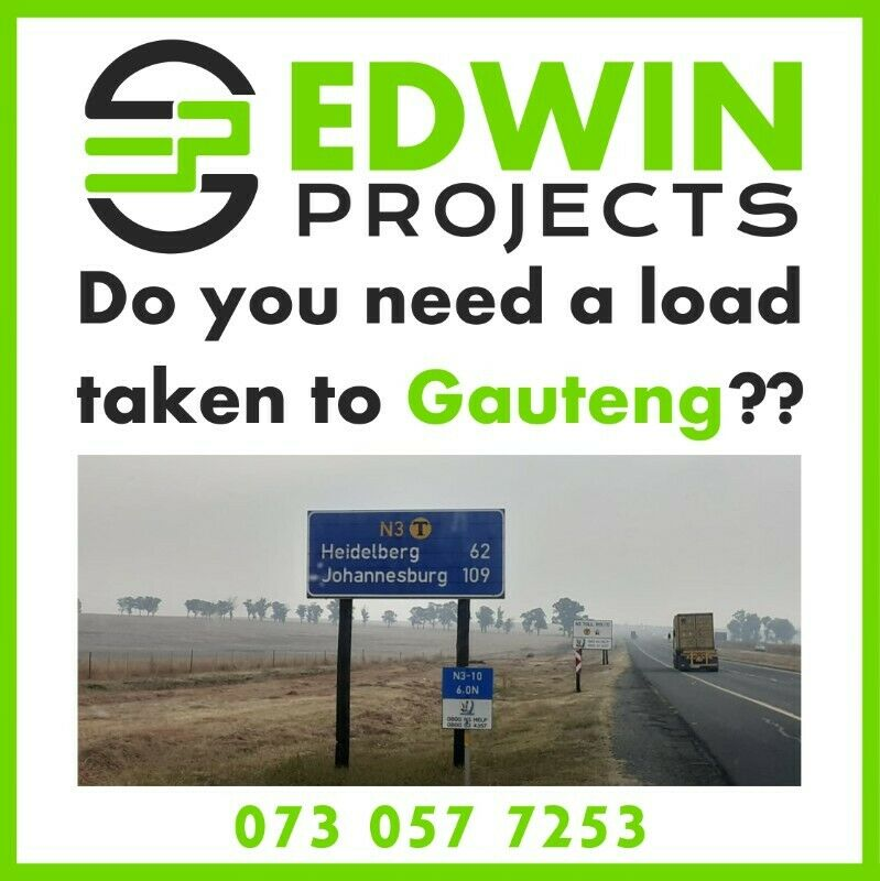 We relocate customers from Durban to Johannesburg