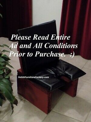 Face Sitting, Queening Chair, BDSM Furniture, FemDom ...