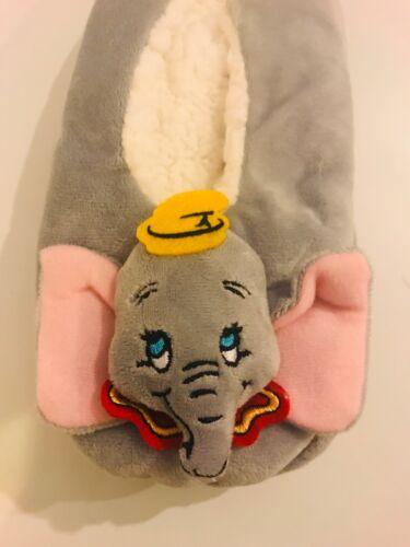 Disney Dumbo footlet Pantoufles Femme Primark Taille UK 3-8