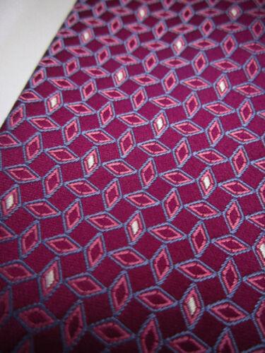 New BROOKS BROTHERS Diamonds on Fuchsia Silk Neck Tie  ~ NWOT
