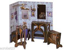 Furniture for Dolls HALL Dollhouse Miniature Scale 1:12 Model Kit Set