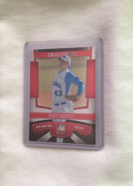 2010 Donruss Matt Harvey #46 Baseball Card