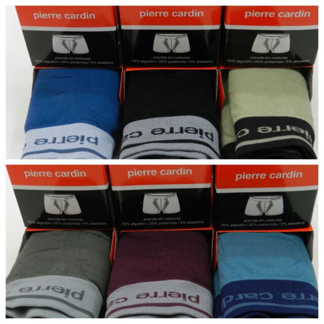 3 Boxer PIERRE CARDIN sin costuras algodón elástico adaptación perfect tipo UNNO