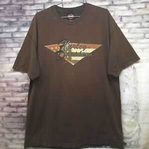 f44b5ac636e2f Details about Vtg Harley Davidson Motorcycles Jacksonville NC. Men's XL T  Shirt