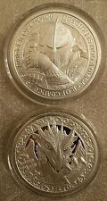 The Knights of round table 2 oz 999 Silver Camelot knights templar Dragon slayer
