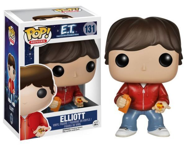 Pop  Movies E.T. ET Elliott Vinyl Figure by Funko