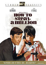 HOW TO STEAL A MILLION (DVD, 2004) - NEW RARE DVD