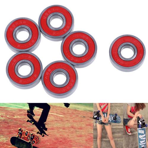 ABEC-9 Skateboard longboard608RS 608ZZ skate roller hocker wheel steelbearingsFU