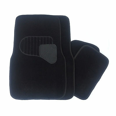 Black Carpet Universal Car Mats Fits Nissan Almera Tino