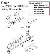 Victor ST2600 ST2600FC Cutting Torch Rebuild//Repair Parts Kit