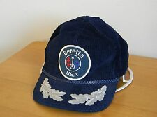 CAP NEW VINTAGE BERETTA USA CORDUROY STRAP BACK HIGH QUALITY EMBROIDERED LOGO