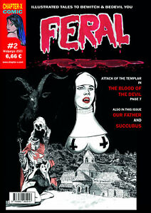 Feral #2 - International issue - BW Horror Comic - english- NEUWARE