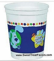 Blues Clues Party Supplies Cups Favor Birthday Dog Decoration Plastic Stadium Nw