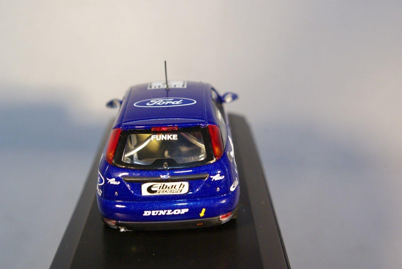 MINICHAMPS MINICHAMPS MINICHAMPS FORD FOCUS RS WRC FUNKE BERU RALLY WOLF MINT BOXED RARE SELTEN    aab534