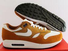 Mens Nike Air Max 1 Premium Retro 908366 700 Dark Currytrue White Size 6.5