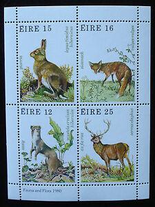 Irland 1980:Block 3,Jagdbare Wildtiere Hase Fuchs Hirsch, postfrisch/MNH/**-TOP! - Königswinter, Deutschland - Irland 1980:Block 3,Jagdbare Wildtiere Hase Fuchs Hirsch, postfrisch/MNH/**-TOP! - Königswinter, Deutschland