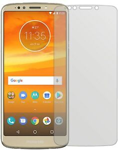 5x-Schutzfolie-fuer-Motorola-Moto-E5-Display-Folie-matt-Displayschutzfolie