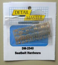 Detail Master Seatbelt Hardware Photo Etch Details 1/24 -25 2540 St