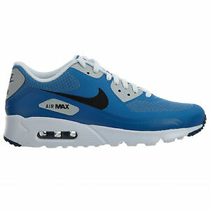 Nike Air Max 90 Ultra Essential Mens 819474-400 Star Blue Running Shoes Size 7.5