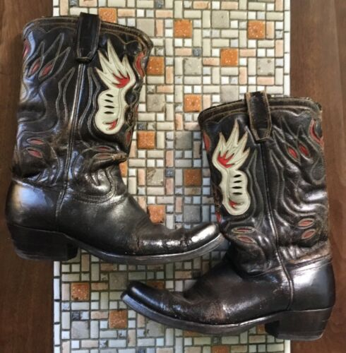 1940s cowboy boots womens 7.5/8 by ACME