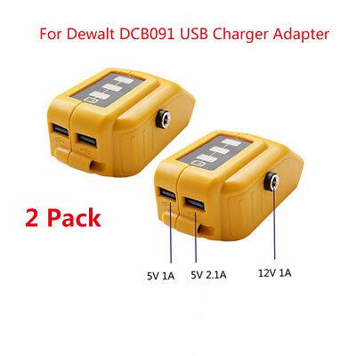 1PCS Black+Decker 20V MAX USB Power Source Adapter w//DC 12V PORT Adapter Only