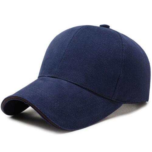 Clásico de Algodón para Hombre Mujer Gorra De Béisbol Ajustable Gorra Sombrero Gorro Pico Deporte Sol De Verano