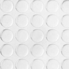"""100 Pcs DIY 1/"""" 3D Crystal Epoxy Adhesive Circles Bottle Cap Stickers Round Clear"""