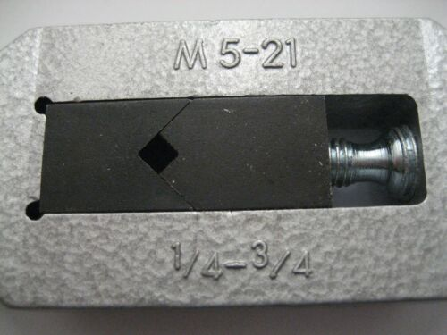 """3//4/"""" MADE BY EUROPA TOOL M21 1//4/"""" LARGE TAP WRENCH M5 OSBORN J8920004  R51"""