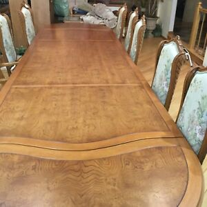 Surprising Details About Dining Room Set 4 X 148 12 Chairs With Two Leafs Included In Size Andrewgaddart Wooden Chair Designs For Living Room Andrewgaddartcom