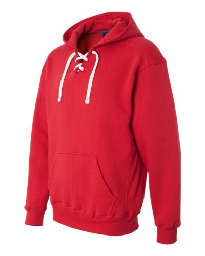 J America Mens Sport Lace Hooded Sweatshirt 80//20 Hoodie XXS-3XL 8830-JA8830
