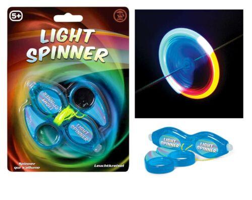 Tobar LIGHT Spinner Flash LED accendere MANO DITA tirare stringa Fidget UK 17924