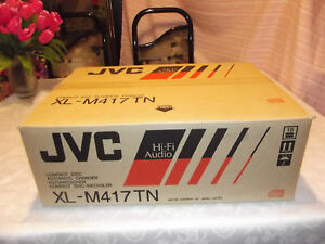 JVC-XL-M417TN-CD-Player-Compact-Disc-Automatic-Changer-New-In-Box