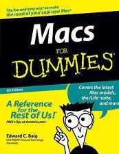 Macs For Dummies by Edward C. Baig (Paperback, 2006)