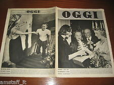RIVISTA OGGI 1951/1=ELIZABETH MEYERHOFFER=BARBARA EDWARD PETERSON=STAGIONE SCALA