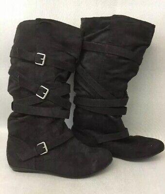 New Women/'s Bongo Ellie Tall Slouch Boot Style 20414 Black 137EF jr
