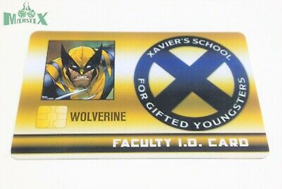 Heroclix X-Men Xavier/'s School set Wolverine #XID-025 Rare Faculty ID card!