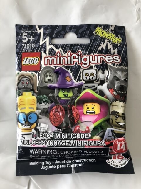 LEGO 71010 Banshee Series 14 Collectible Minifigure NEW & SEALED