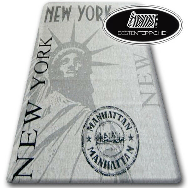 Moderna Naturale Tappeto Sisal  floorlux New York praticamente facile da pulire