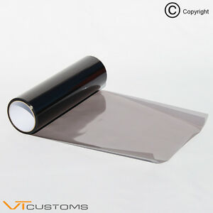 30 x 60cm light smoke tinting film fog tail lights headlights tint car van wrap 534274239335 ebay. Black Bedroom Furniture Sets. Home Design Ideas