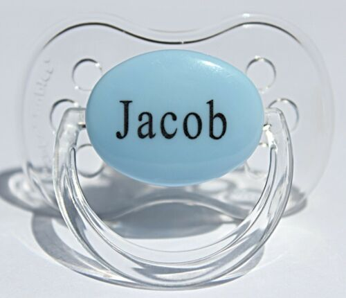 Custom Pacifier BPA-FREE Personalized Pacifier Baby Boy Gift 3 PACK